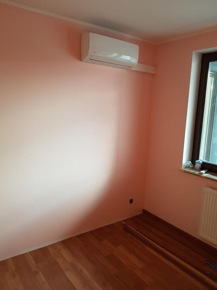 przykładowo zamontowana klimatyzacja domowa
